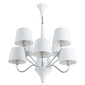Люстра Arte Lamp Gracia A1528LM-8WH